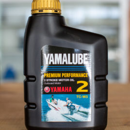 Yamalube Premium Performance 2-Stroke Outboard Motor Oil 2 TC-W3 (1L)